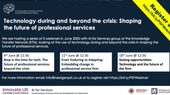 Upcoming Webinars – Innovation Beyond the Crisis image