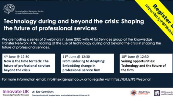 Upcoming Webinars – Innovation Beyond the Crisis image