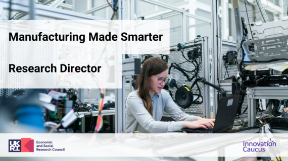 ESRC Manufacturing Made Smarter Research Director Event image