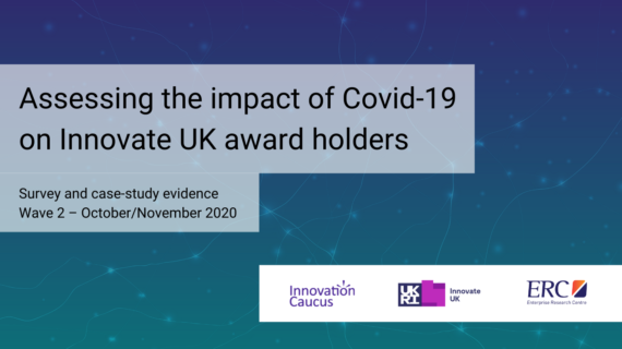 Wave 2 Report – Assessing the impact of Covid-19 on Innovate UK award holders image